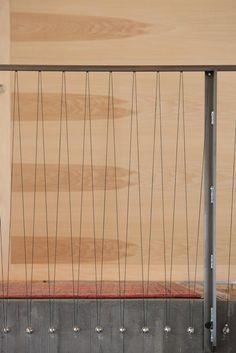 garde corps en bois avec cables inox garde corps. Black Bedroom Furniture Sets. Home Design Ideas