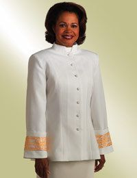 Clergy Attire for Women: clerical Pulpit robes, women's cassocks, church suits and dresses for church, robes for lady pastors Funeral Attire, Church Attire, Church Suits, Church Dresses, Church Clothes, Suits For Women, Jackets For Women, Religion, Church Fashion