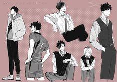 Haikyuu Nekoma, Kuroo Tetsurou, Haikyuu Fanart, Kageyama, Haikyuu Anime, Kurotsuki, Anime Reccomendations, Kuroken, Hot Anime Boy