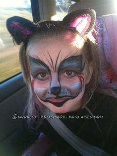 Original Zombie Cat Costume for a 5-Year-Old Girl ...This website is the Pinterest of costumes