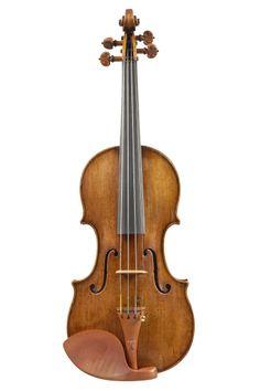 A Fine Italian Violin by G.B. Rogeri, Brescia 1703  Length of back: 13 3/4ins, 350mm Labelled: Jo: Bapt. Rogerius Bon: Nicolai Amati de Cremo-na alumnus brixae fecit anno dominae 1703