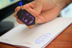 Each Albergue/Hostal has their own stamp for your Pilgrim passport. Hostal LARS in Burgos. **