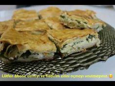 Sodalı ıspanaklı peynirli tepsi böreği | Sevginin Sofrası