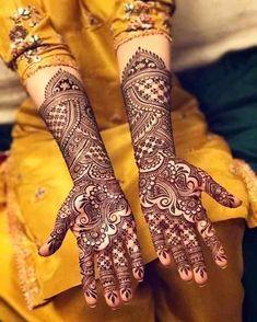 Mehndi is something that every girl want. Arabic mehndi design is another beautiful mehndi design. We will show Arabic Mehndi Designs. Indian Henna Designs, Mehandhi Designs, Full Hand Mehndi Designs, Henna Art Designs, Mehndi Design Photos, Wedding Mehndi Designs, Beautiful Mehndi Design, Dulhan Mehndi Designs, Simple Mehndi Designs