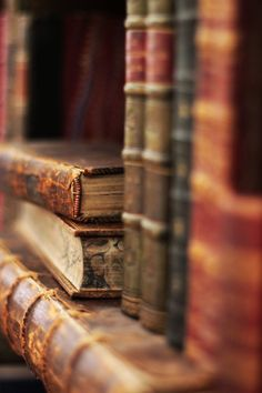 Beautiful vintage books - the smell, the feel, the history!