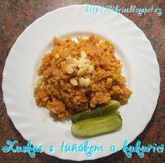 FITKRISS: * Kuskus s tuňákem a kukuřicí Grains, Rice, Food, Essen, Meals, Seeds, Yemek, Laughter, Jim Rice