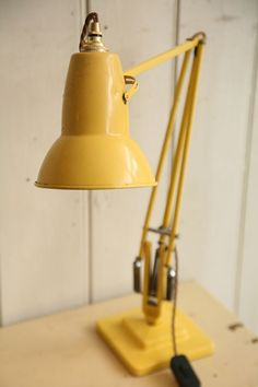 retro yellow desk lamp - Szukaj w Google