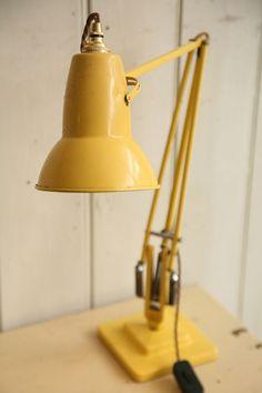 retro yellow desk lamp - Szukaj w Google