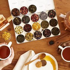 Green Herbal Tea Kit | You know she loves a hot cup of tea, but she doesn't know much about the world of herbals teas out there. Give Grandma a sampling of the best with this tea kit.