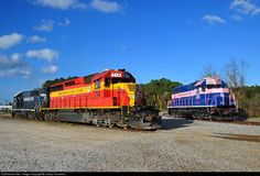 RailPictures.Net Photo: 714 Florida East Coast Railroad (FEC) EMD SD40-2 at Jacksonville, Florida by Casey Thomason