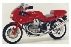 Moto Guzzi 1st production model.
