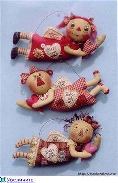 Mimin Dolls: anjos de natal