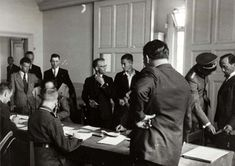 July 1941. Dutch volunteers are gathering at a Waffen-SS office to sign up for service at the Eastern front. About 25,000 Dutchmen fought voluntarily within the ranks of the Waffen-SS during the WorldWar II. The Dutch formed the largest contingent non-German volunteers from all countries occupied by Germany. After the war SS-volunteers were often considered traitors. Their position remains a thorny issue in Dutch history. Photo Nationaal Archief / Stapf Bilderdienst. #amsterdam #worldwar2