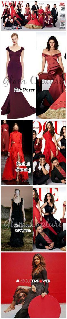 B'Town Beauties On Vogue: Alia Bhatt, Deepika Padukone & Kangana Ranaut.