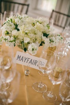 #table-names  Photography: Emily Delamater - emilydelamaterphotography.com  Read More: http://www.stylemepretty.com/2014/02/10/fall-hidden-pond-maine-wedding/