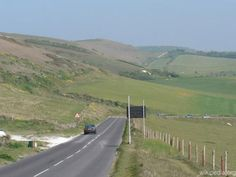 Route A3055, Angleterre