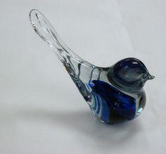 Bruce Cobb glass bird.