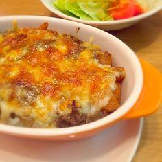 残り物のカレーをリメイク!!簡単料理⭐️ - 12件のもぐもぐ - カレードリア by erinko121078