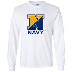 Officially Licensed U.S. Navy White Long Sleeve Shirt now available! Show your Navy Service pride with this White Performance Long Sleeve Shirt. This performance shirt features 100% Polyester antimicrobial, moisture wicking fabric that will keep you cool, dry, and comfortable. THIS IS A PERFORMANCE FABRIC SHIRT, NOT COTTON. Designed, Printed & Sublimated in the USA -Fabric Imported.