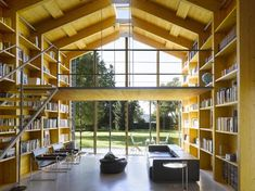 Nice and simple. Modern Boathouse by Susanne Nobis. Located by Lake Starnberg near Munich, Germany, the design takes a modern spin on the traditional twin wooden boathouse design that is popular to the area.