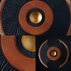 Close up photos of the black & gold cedar piece #gold #woodwork #art #craft #homedecor #timber #sculpture #photography #australia by fromaseed