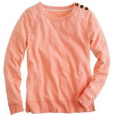 NWT J. Crew Tortoise-Button Sweatshirt Brand new with tags! This is sold out on J. Crew website because of its popularity. J. Crew Tops Sweatshirts & Hoodies