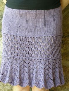 Knitting Patterns Skirt Yllep`s handicrafts Crochet Skirts, Knit Skirt, Knit Or Crochet, Lace Knitting, Crochet Hooks, Knitting Patterns, Yarn Projects, Knitting Projects, Crochet Fashion