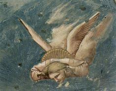Giotto di Bondone (1266-1337), A Ressurreição, Capela Scrovegni, Pádua
