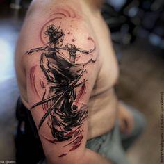 Tatouage réalisé par Felipe Rodrigues