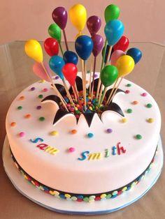Buttercream Cake Designs, Cake Decorating Frosting, Cake Decorating Designs, Creative Cake Decorating, Creative Cakes, Baby First Birthday Cake, Birthday Cakes For Teens, Pretty Birthday Cakes, Themed Birthday Cakes