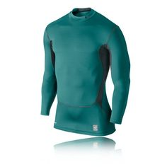 7416c50633 Nike Pro Hyperwarm manches longues compression Mock Training Top - HO14 (1)  Training Tops