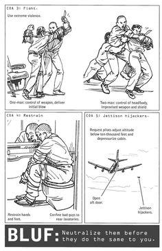 100 Deadly Skills skill 72 take-out-a-hijacker