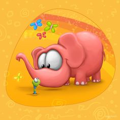 Meet The Little ones -Elephant by Tooshtoosh.deviantart.com on @deviantART