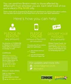 Twitter / CommunePH: Here's how you can send hot Bknalot meals to those affected by ...