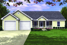 COOL house plans offers a unique variety of professionally designed home plans with floor plans by accredited home designers. Styles include country house plans, colonial, Victorian, European, and ranch. Blueprints for small to luxury home styles. Ranch House Plans, New House Plans, Dream House Plans, House Floor Plans, Modern Courtyard, Courtyard House Plans, Country Style House Plans, Country Style Homes, Monster House Plans