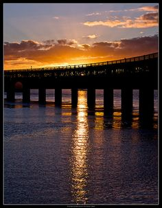 Tay Bridge Sunset, Dundee The Tay Bridge (sometimes unofficially the Tay Rail… Glasgow, Edinburgh, Beautiful World, Beautiful Places, Cairngorms, Scotland Travel, Great Britain, Cool Places To Visit, Travel Inspiration
