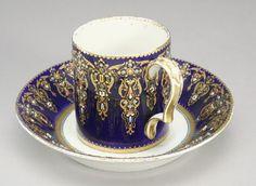 Sevres porcelain Bleu Nouveau 1778