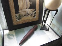 Vintage Wood Yarn Bobbin  Wood Darner  by JewelsOfHighElegance, $12.50