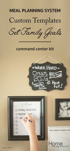 We talked to moms like you and took the best blogger tips to create the Home Headquarters command center kit.  The kit includes everything you need + unlimited access to online templates, video tutorials and so much more! Shop today!