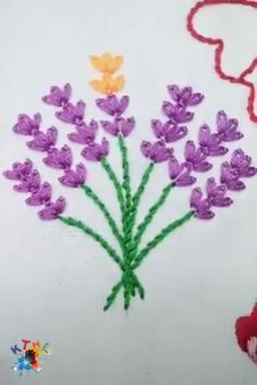 Excellent Absolutely Free Embroidery Designs videos Suggestions Creative ideas about hand embroidery design. Hand Embroidery Videos, Hand Embroidery Flowers, Simple Embroidery, Hand Embroidery Stitches, Crewel Embroidery, Hand Embroidery Designs, Ribbon Embroidery, Cross Stitch Embroidery, Embroidery Ideas