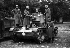 Polish technics in germans units Ww2 Tanks, Panzer, Armored Vehicles, Military Vehicles, World War, Wwii, Poland, German, The Unit