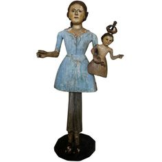 18th Century French Santo Doll