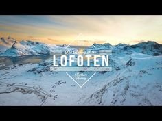 The Beauty of the Lofoten | Aerial Video in 4K - YouTube