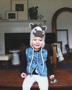 f23cc2a2e4c Crocheted Horse Pony Hat - Baby