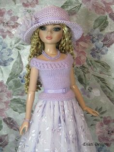 *evati* OOAK outfit for ELLOWYNE WILDE * AMBER * LIZETTE * Tonner *5*