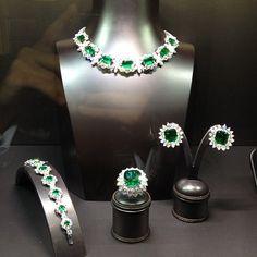 Bayco at #baselworld : Day 1 - Emeralds #bayco #emeralds #jewelry #luxury