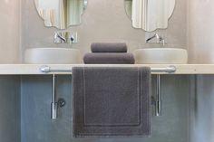 bobyred tapis de bain gauffrette en coton 50x80cm stone: Amazon.fr: Cuisine & Maison