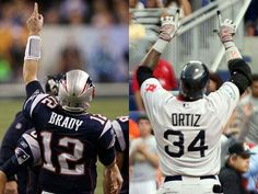 PATRIOTS and RED SOX'S