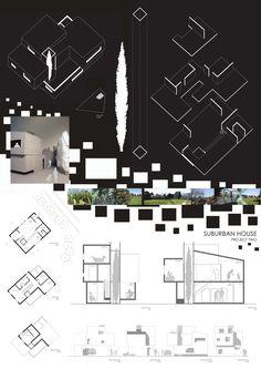 Suburban house final presentation Dharmishta Painter - First Year Architecture