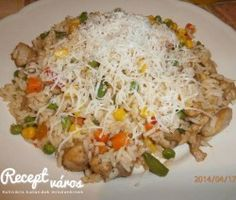 Hungarian Food, Hungarian Recipes, Fried Rice, Fries, Ethnic Recipes, Easy, Hungarian Cuisine, Nasi Goreng, Stir Fry Rice